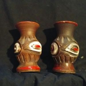 Mini Pottery Vases